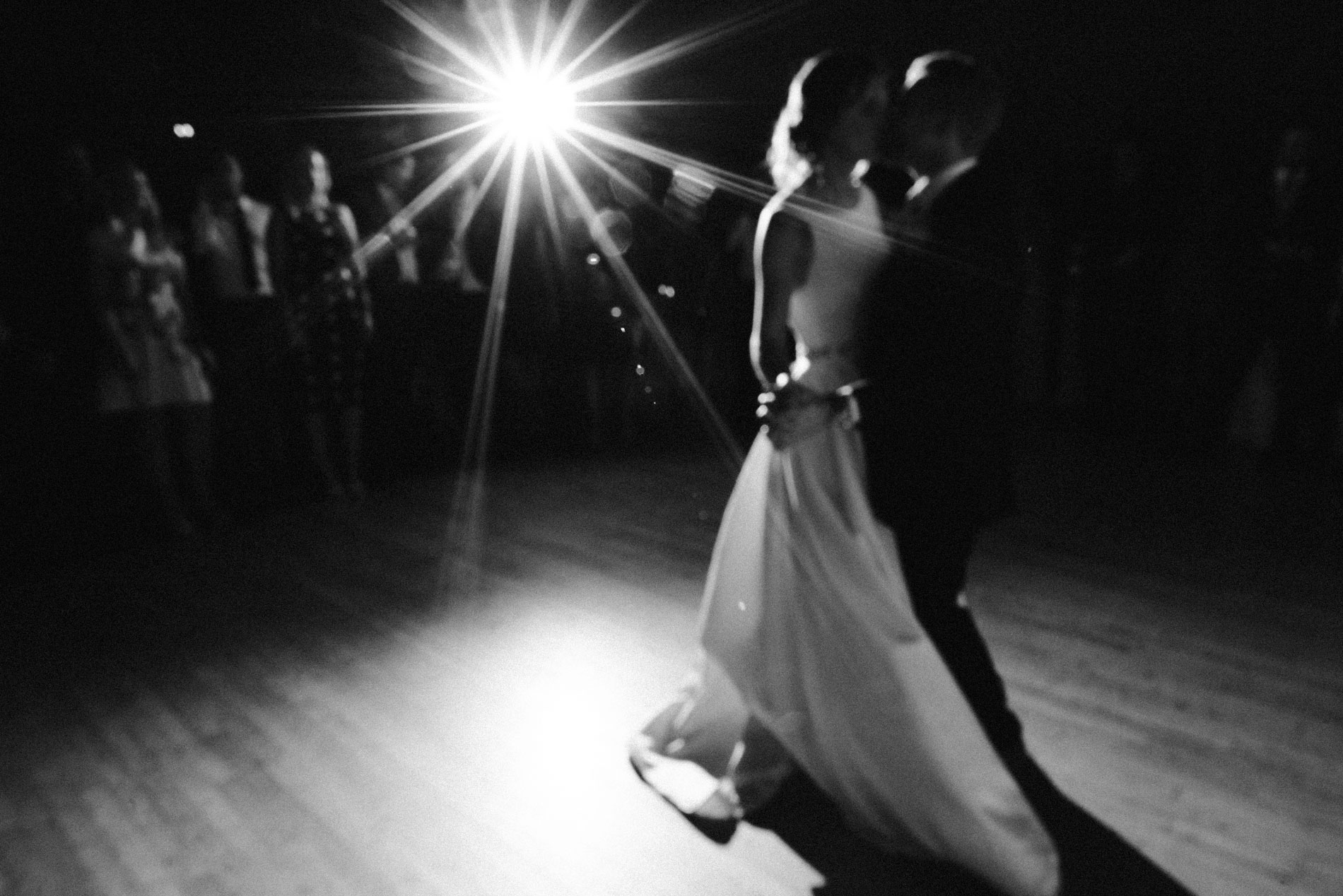 Bride and groom first dance at the Assembly rooms in Bath
