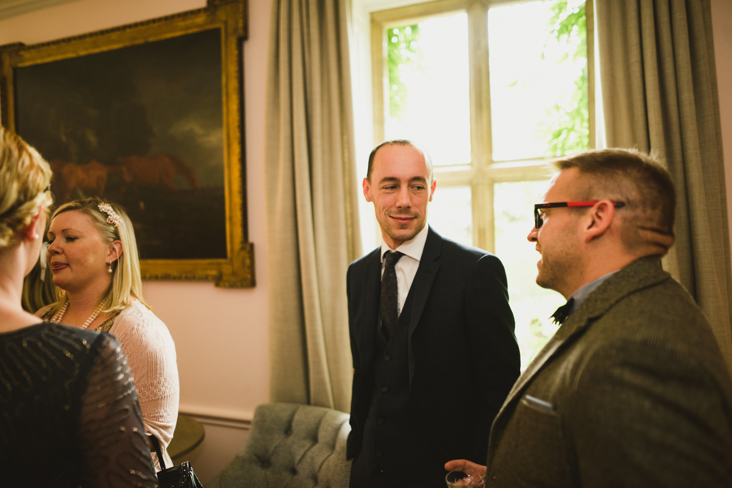 Natalie & Alex at The Lower Slaughter Manor, Cotswolds