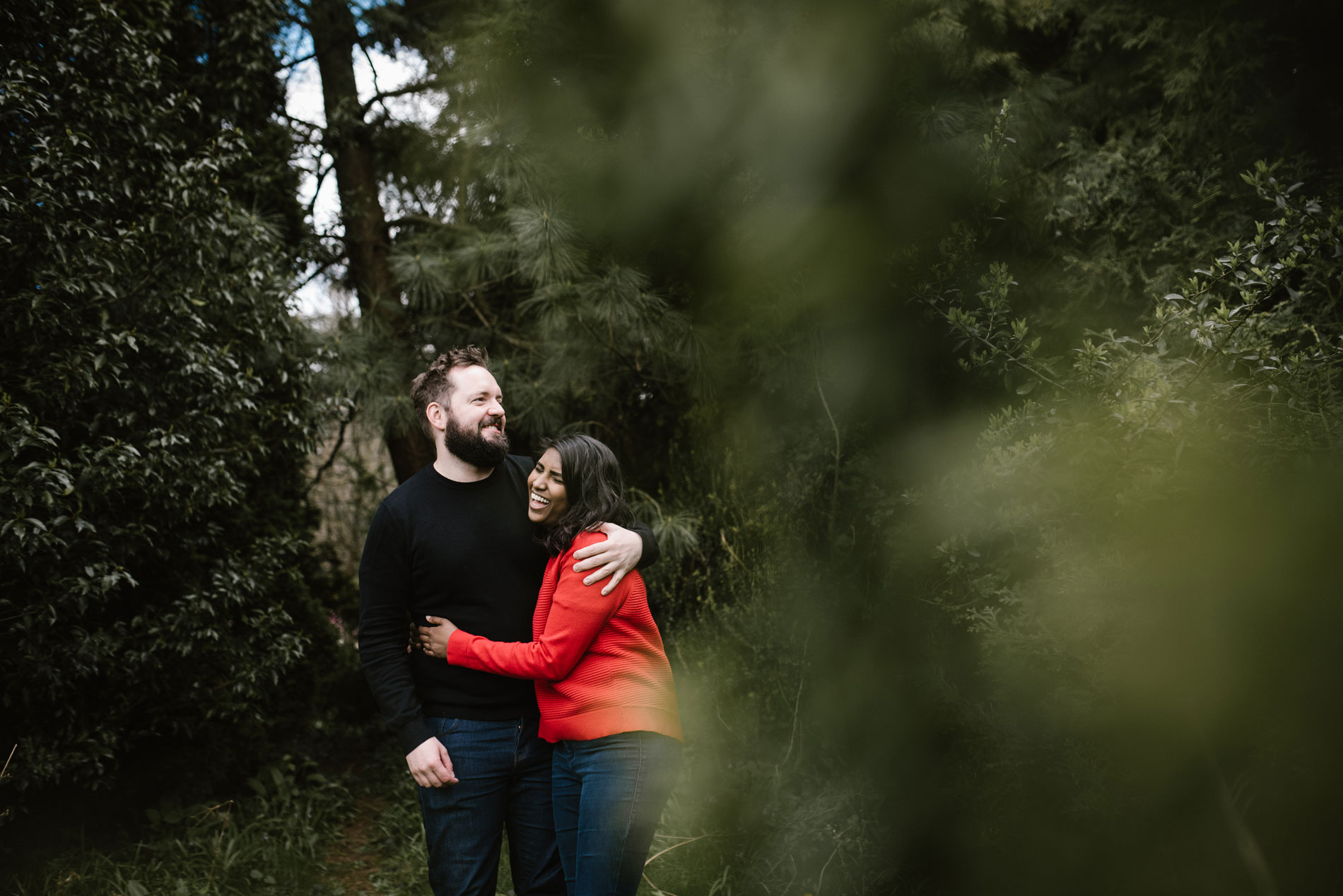 Pre wedding shoot with Andrew Brannan Photography at The Botanical Gardens, Bath.