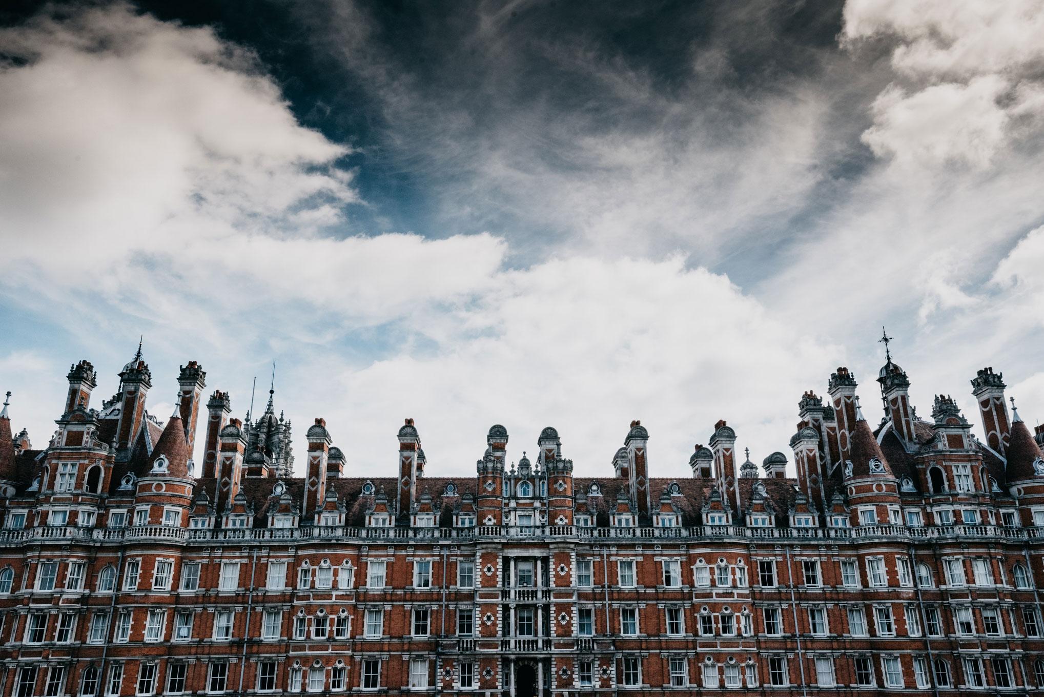 grounds of Royal Holloway University of London.