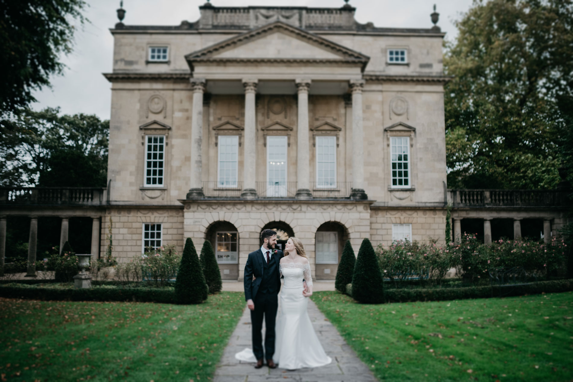 Amy and John getting married at The Holburne Museum in Bath