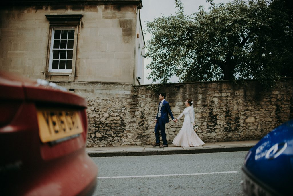 Ken and Lam elopement wedding shoot in Bath.