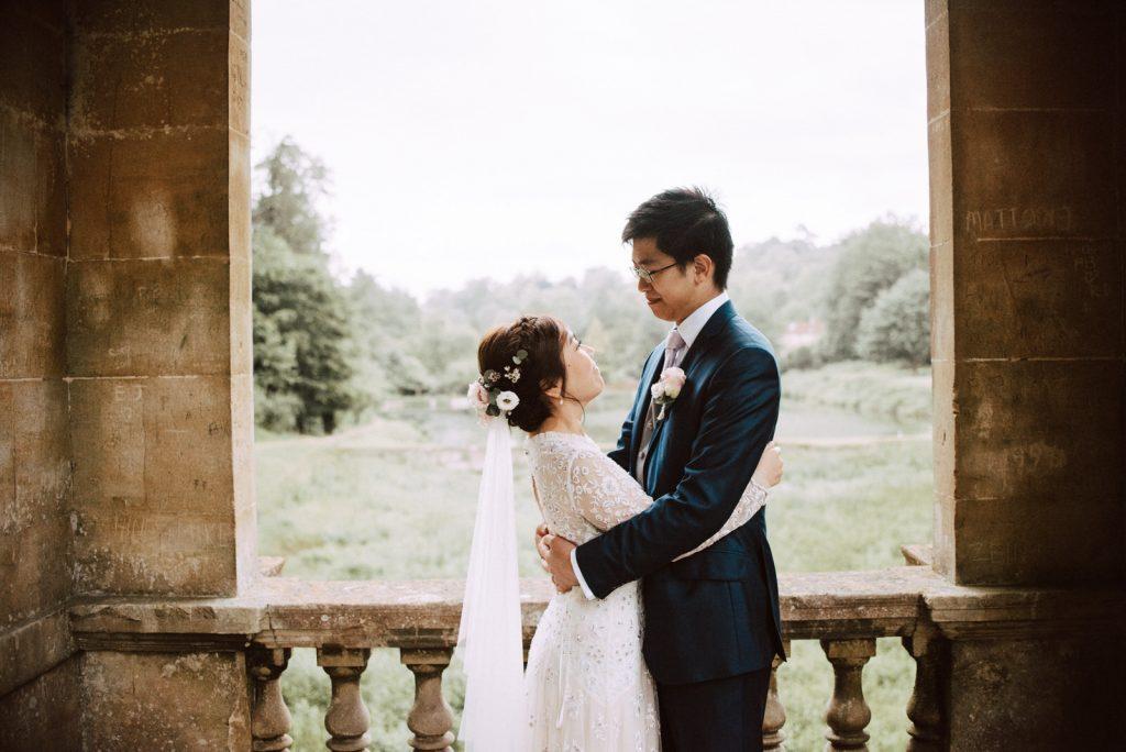 Ken and Lam elopement wedding shoot in Bath