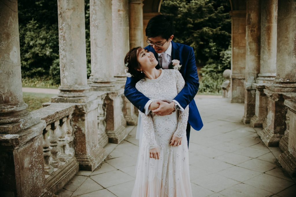 Ken and Lam elopement wedding shoot in Bath
