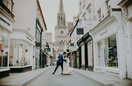 Lam & Ken's Elopement in Bath city Centre