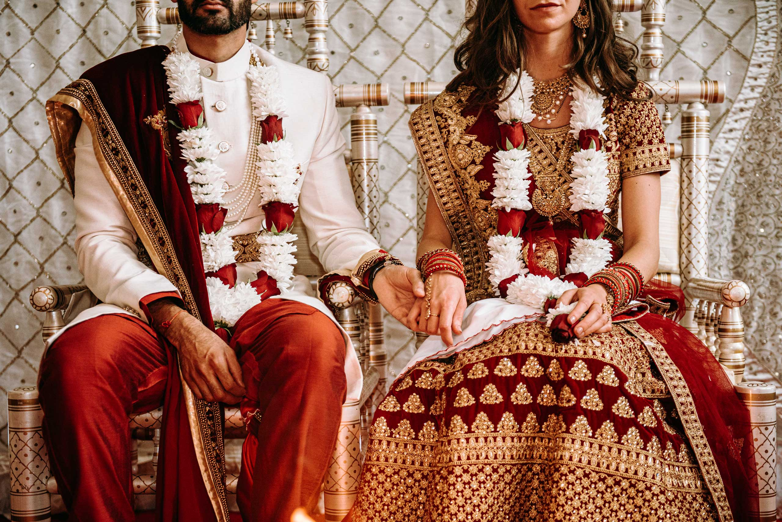 Shahil & Ellie indian wedding at Merriscourt Barn Chipping norton.