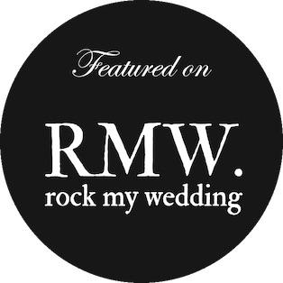 Rock my weddingf feature badge