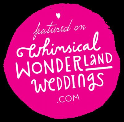 wedding blog feature badge